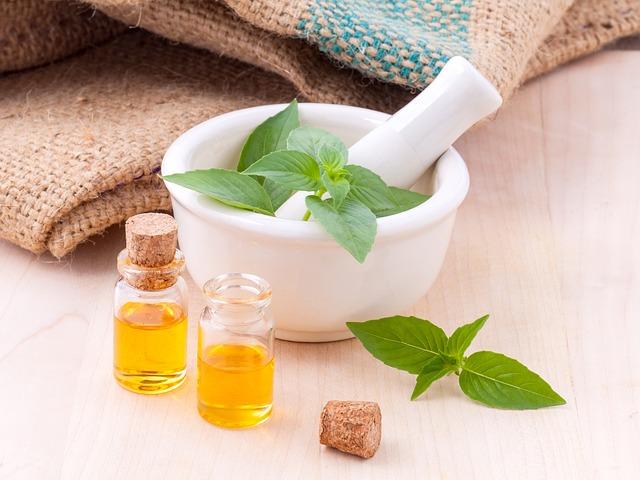 Aromatherapie ätherische Öle in derKüche