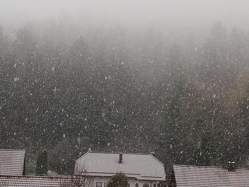 Der erste Schnee,heuer