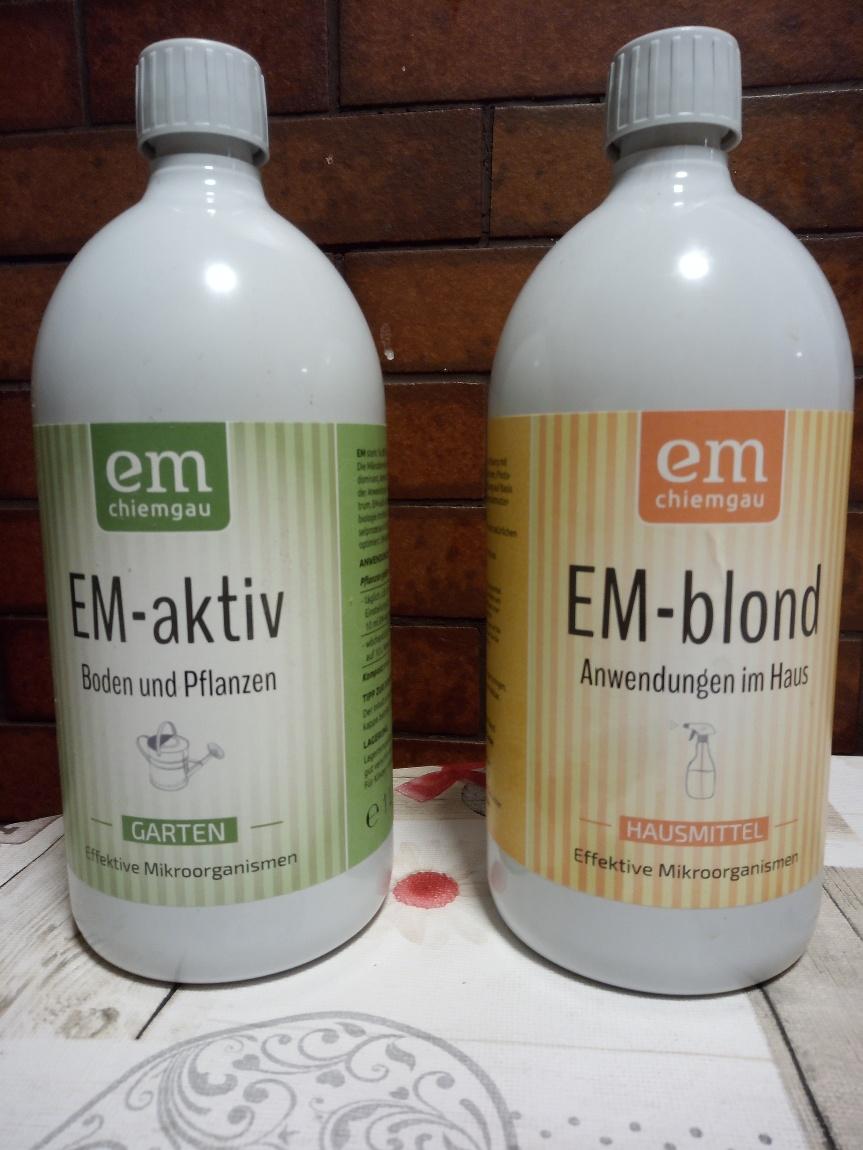 EM – Effektive Mikroorganismen|EM-aktiv – EM-blond | Was ist eigentlich der Unterschied?