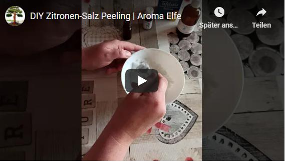 Aroma Elfe | DIY Zitronen-Salz-Peeling